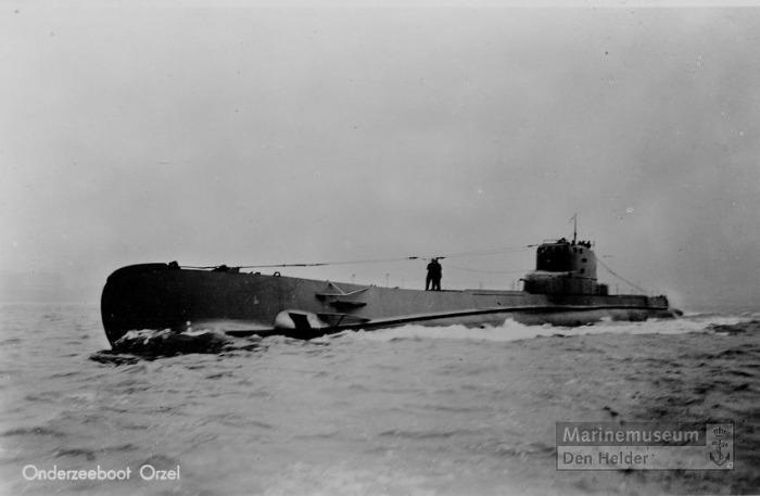 De Poolse onderzeeboot de Orzel gebouwt in Nederland